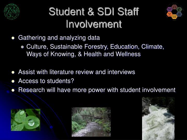 Student & SDI Staff
