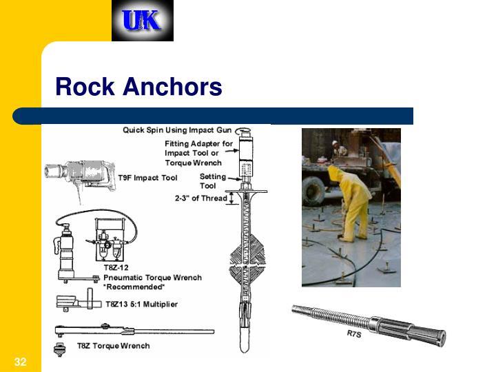 Rock Anchors