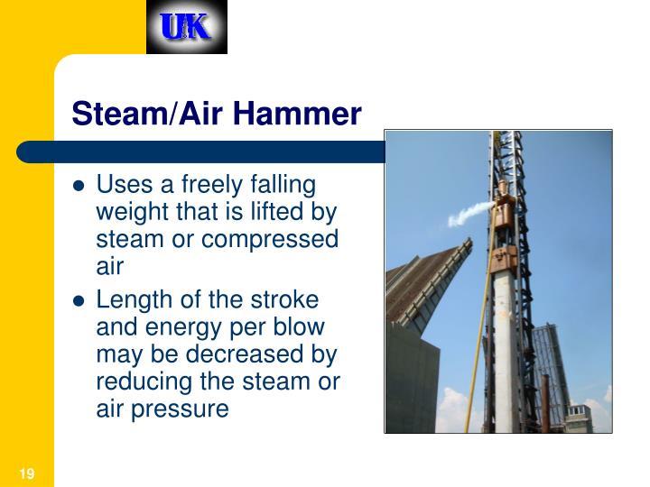 Steam/Air Hammer