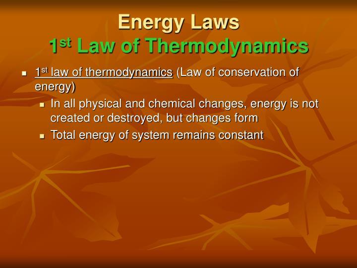 Energy Laws