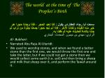 the world at the time of the prophet s birth2