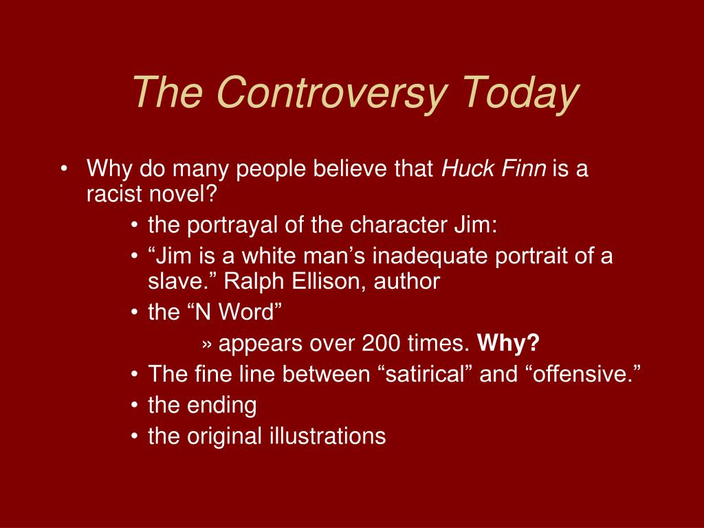 The Controversy Today