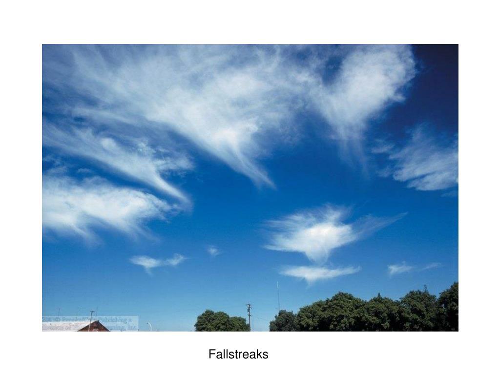 Fallstreaks