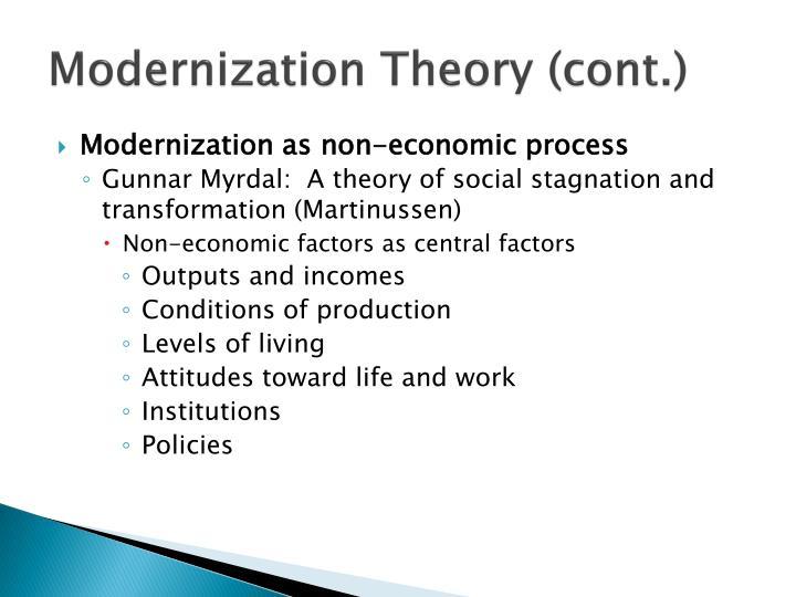 Gunnar myrdal theory - 3 part 1
