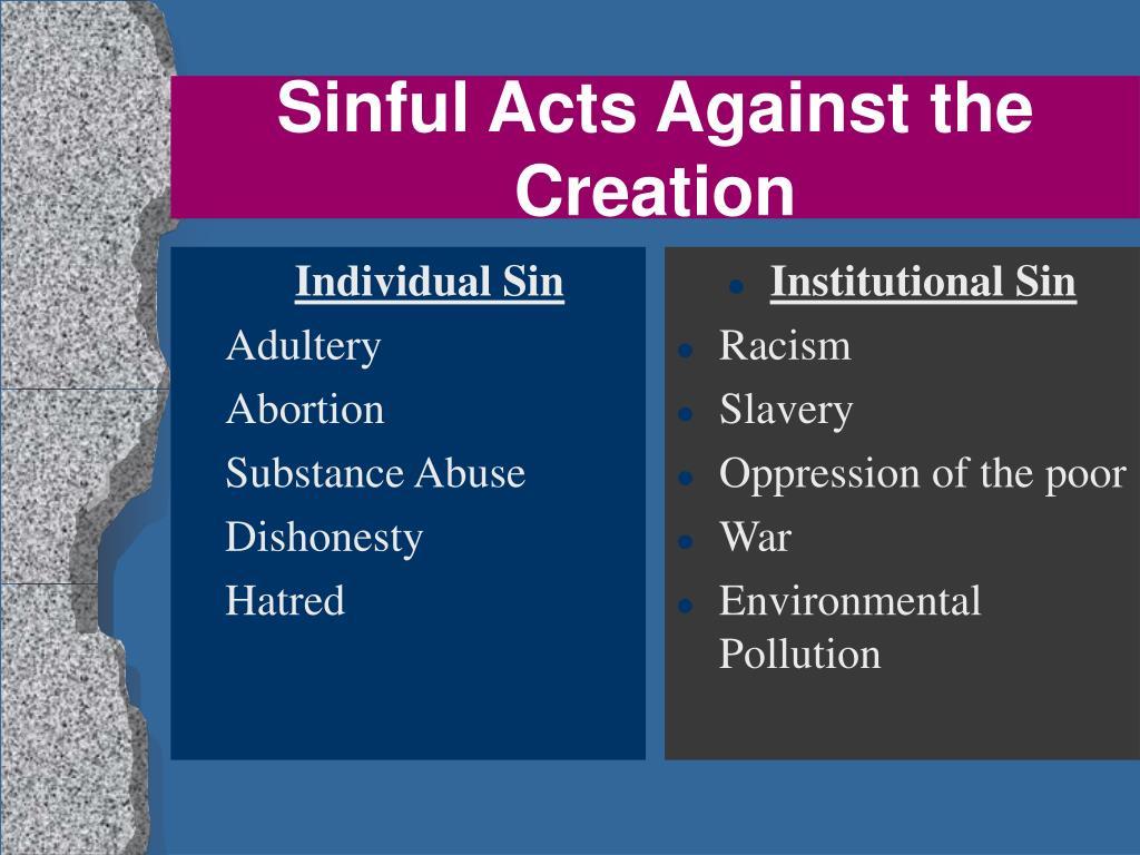 Individual Sin