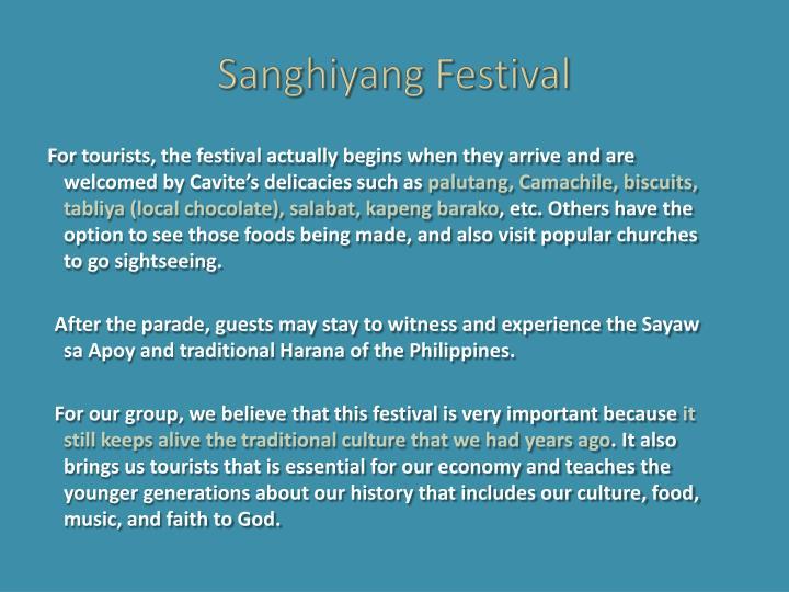 Sanghiyang