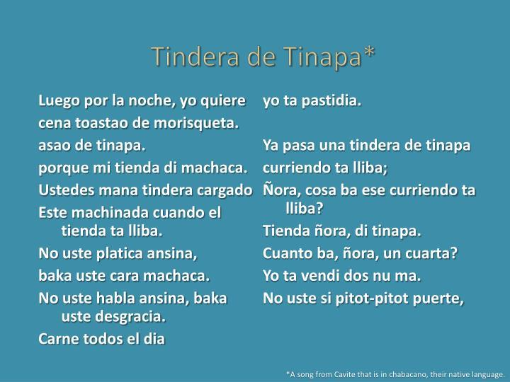 Tindera