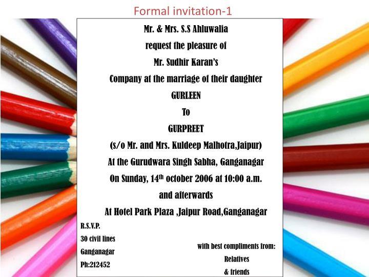 Formal invitation-1