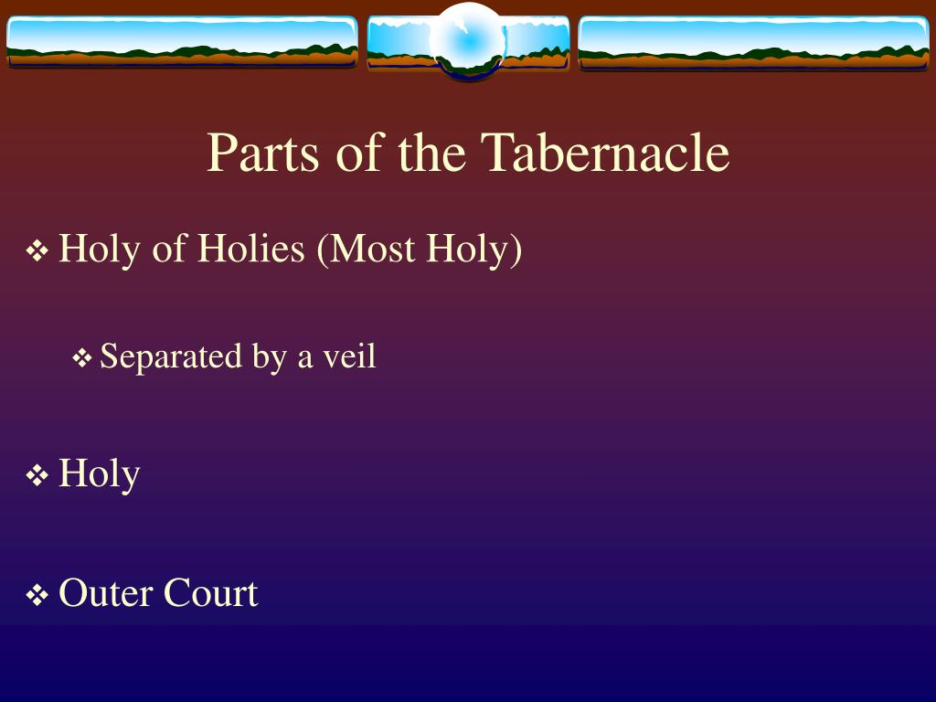 Parts of the Tabernacle