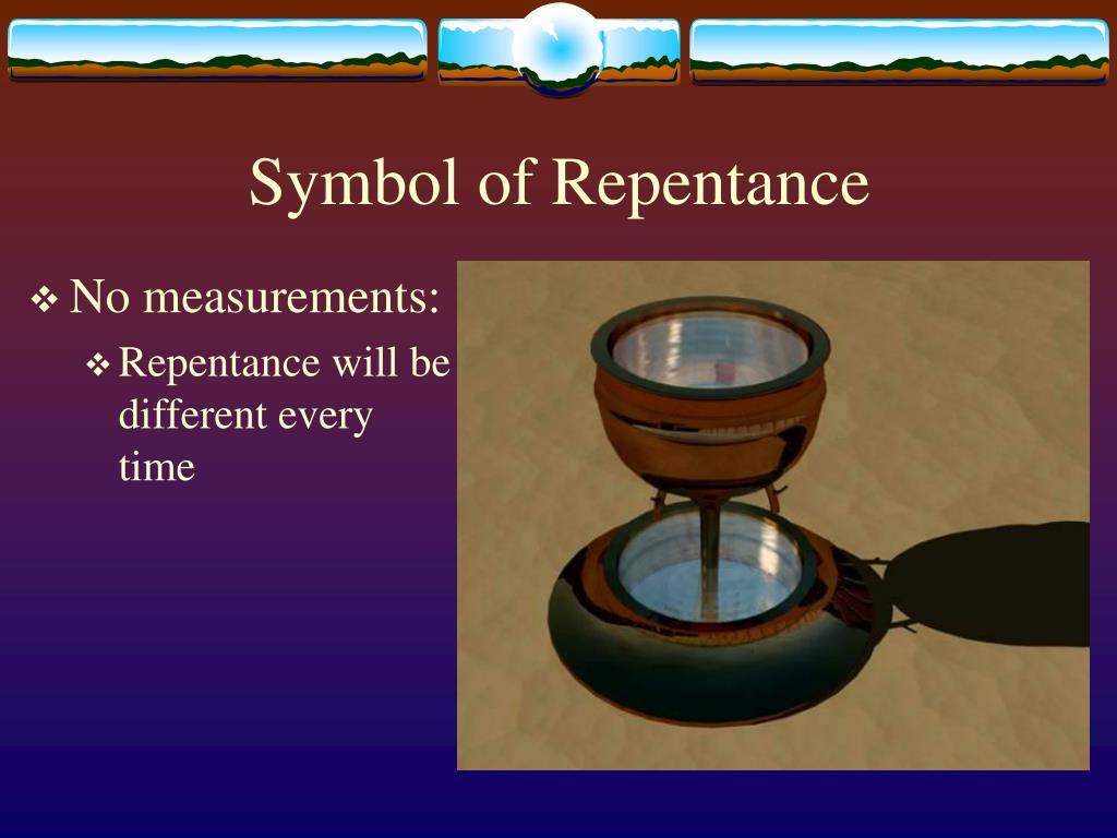 Symbol of Repentance