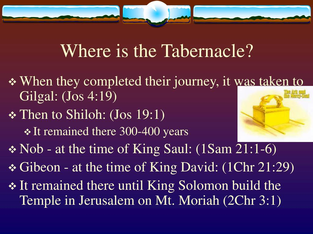 Where is the Tabernacle?