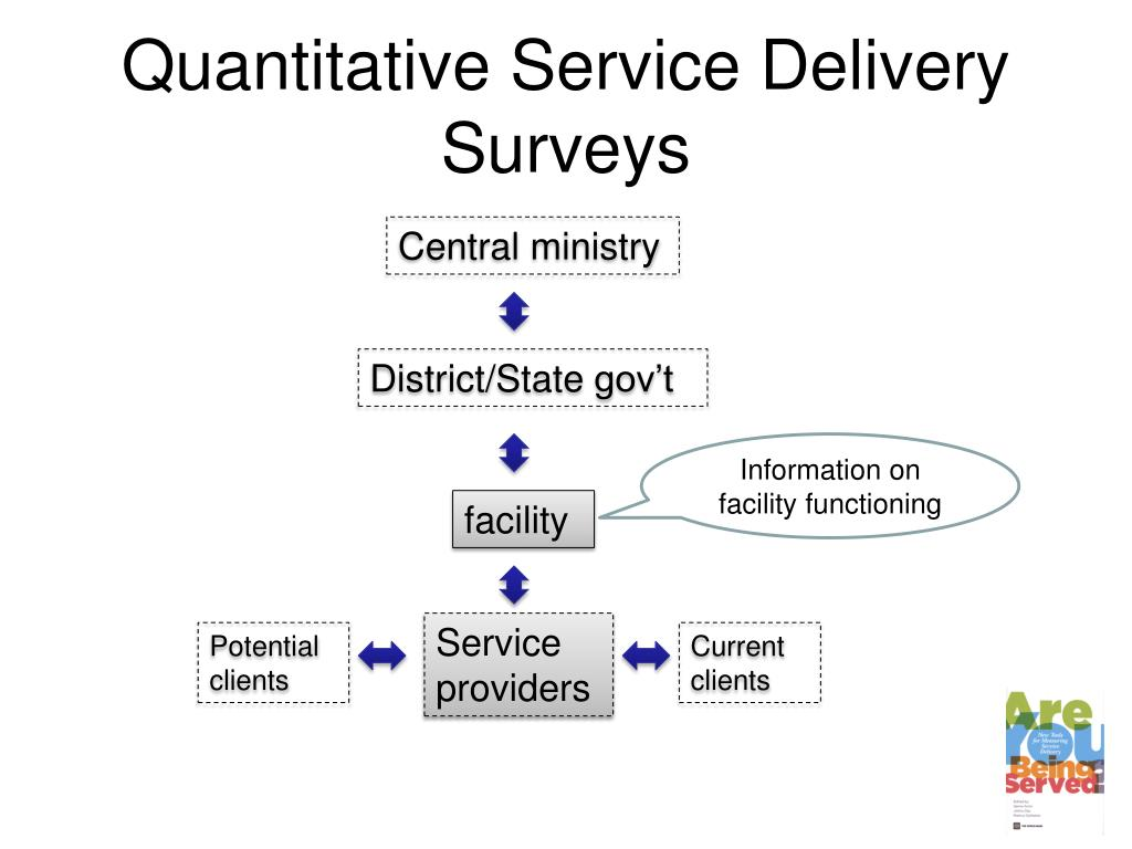 Quantitative Service Delivery Surveys