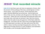jesus first recorded miracle1