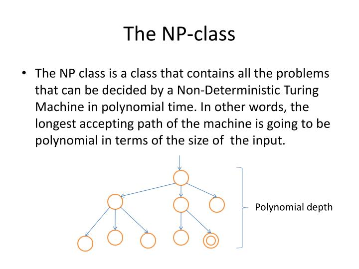 The np class