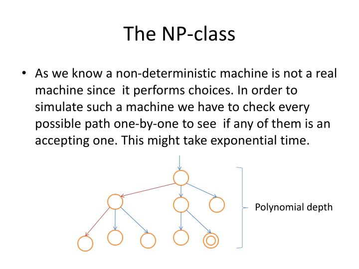 The np class1