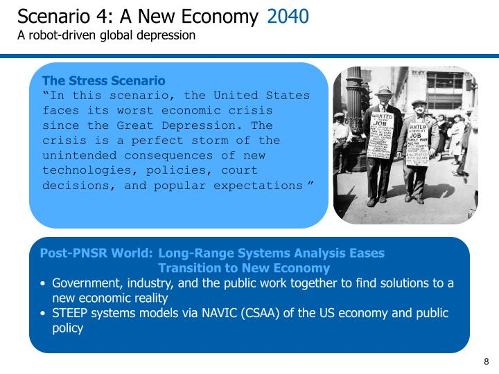 Scenario 4: A New Economy