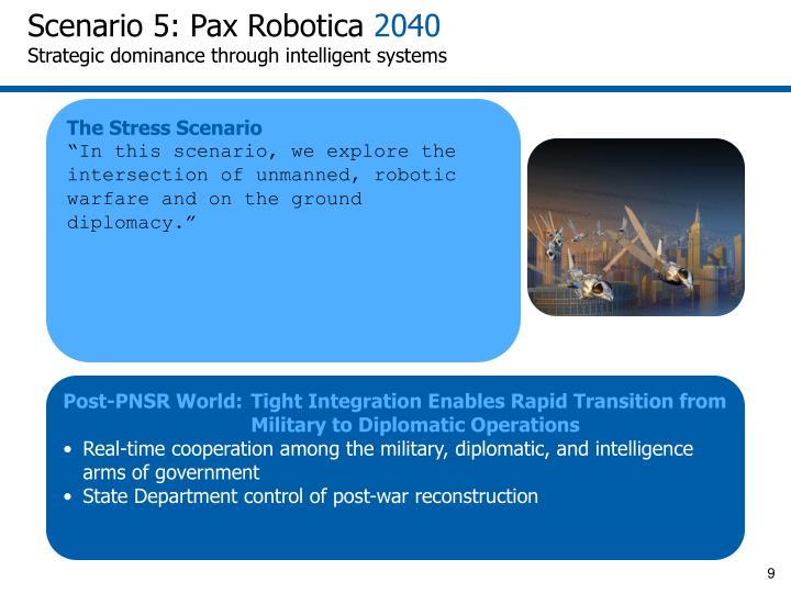 Scenario 5: Pax Robotica