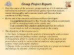 group project reports