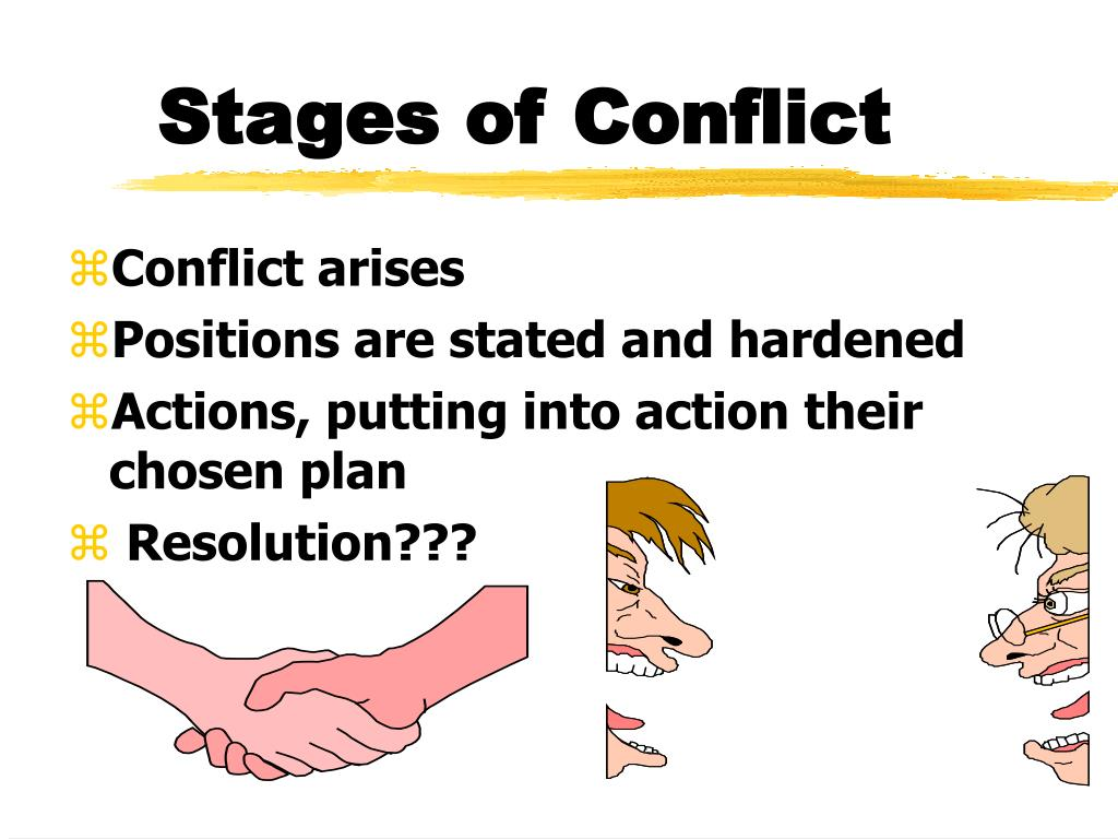 types of conflict and stages of conflict As stage plays begin their life as unperformed literature, let us examine the  nature of conflict from a literary perspective daily writing tips outlines seven  types of.