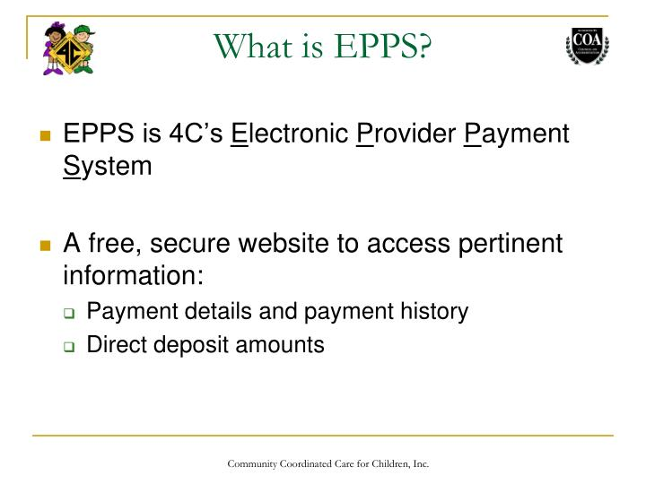 What is EPPS?