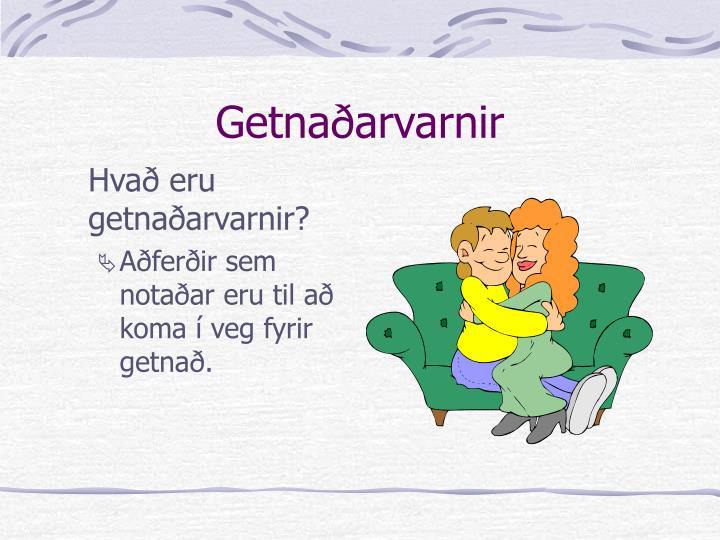 Getnaðarvarnir