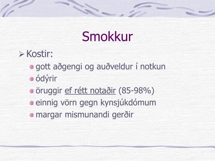 Smokkur