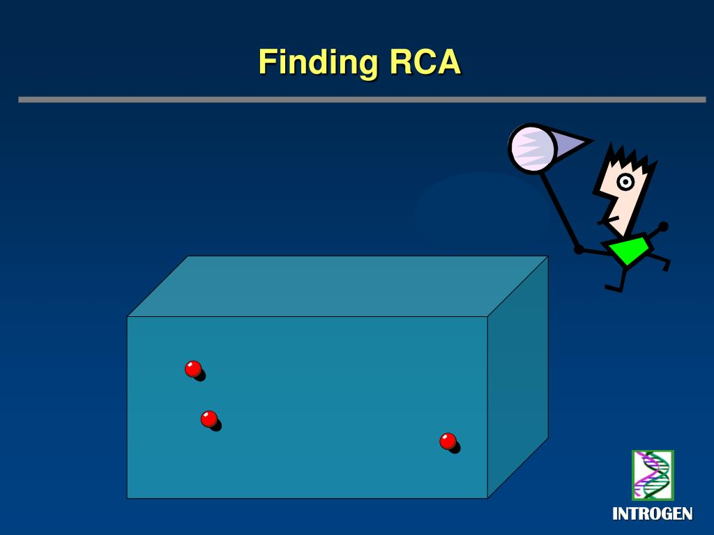 Finding RCA