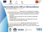oportuni i pentru car uri microcreditarea1