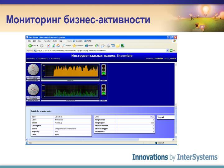 Мониторинг бизнес-активности