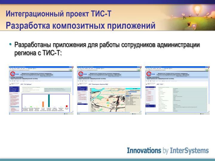Интеграционный проект ТИС-Т