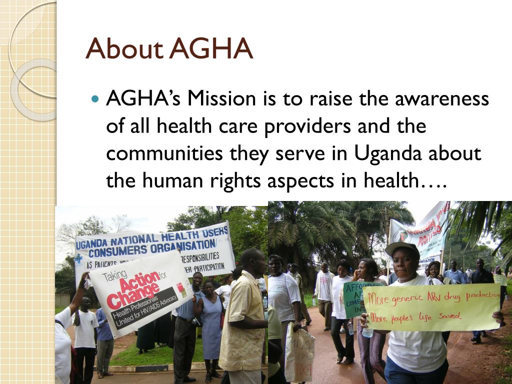 About AGHA