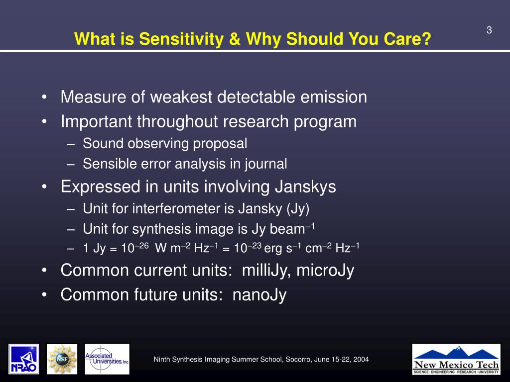 What is Sensitivity & Why Should You Care?