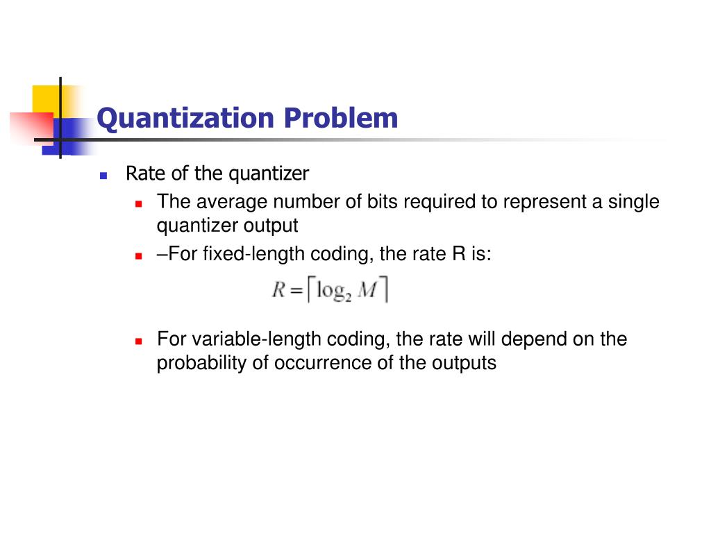 Quantization Problem