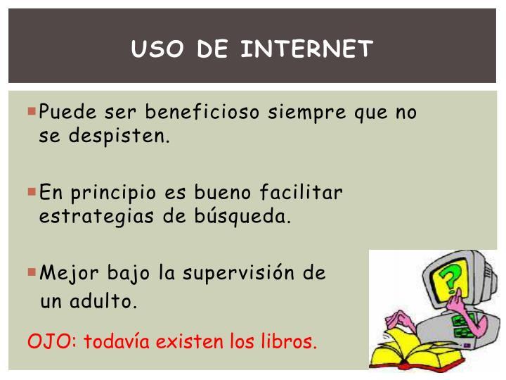 USO DE INTERNET