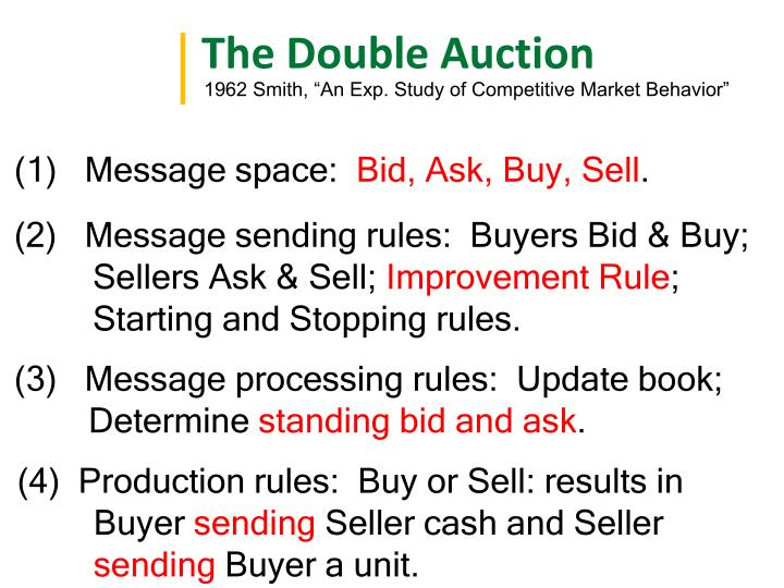 The Double Auction