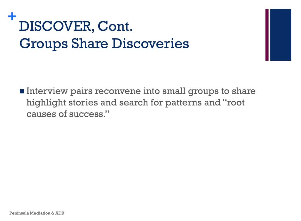 DISCOVER, Cont.