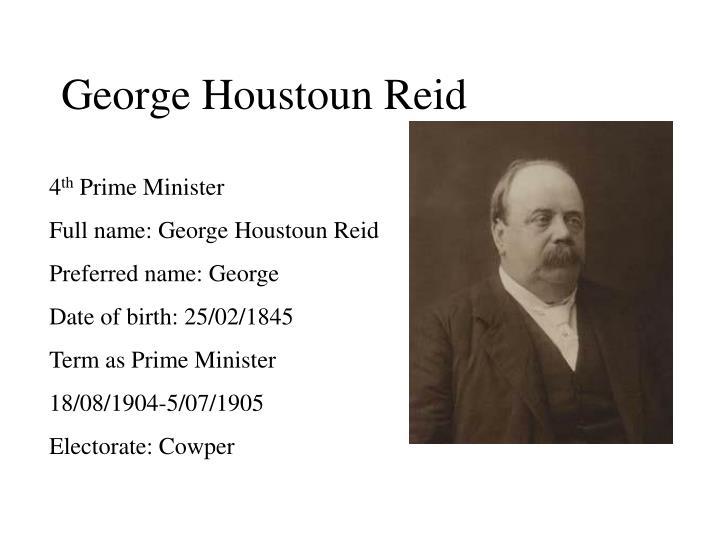 George Houstoun Reid