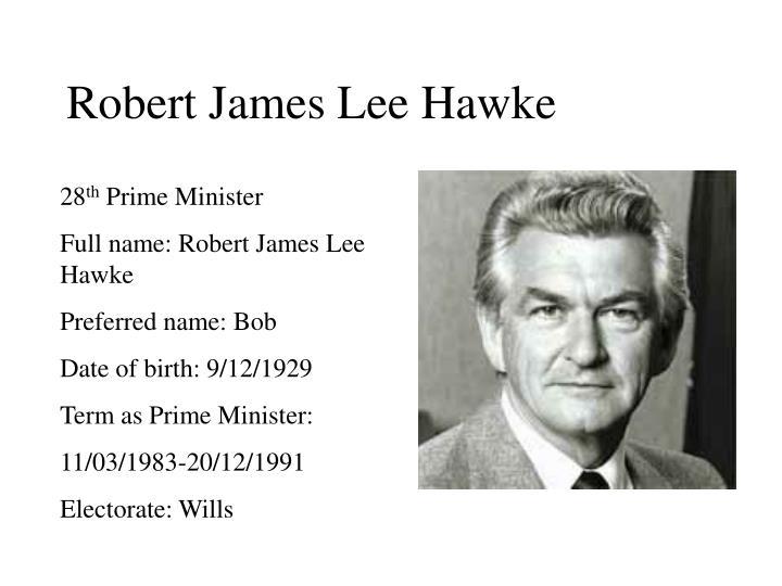 Robert James Lee Hawke