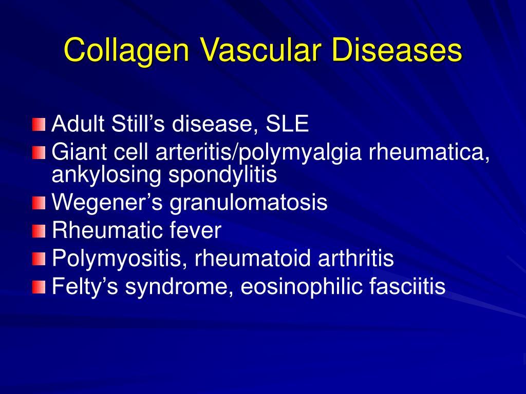 Collagen Vascular Diseases
