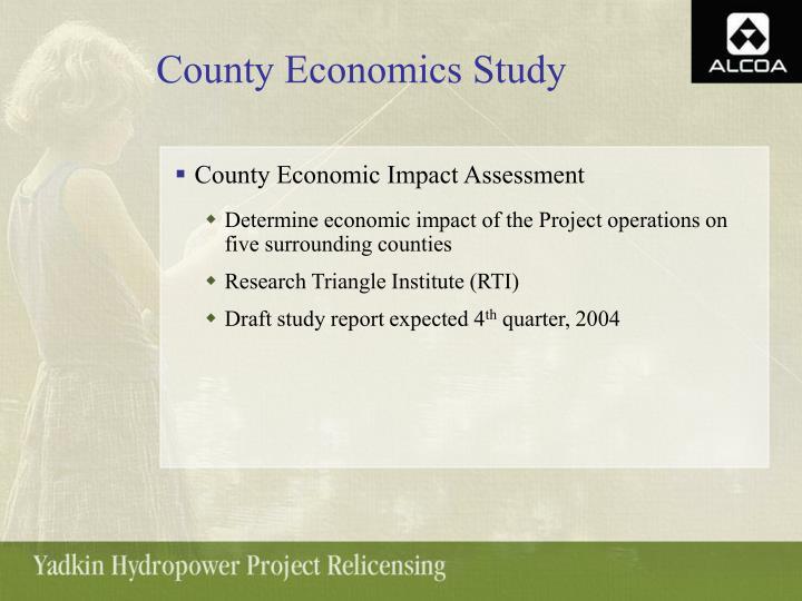 County Economics Study