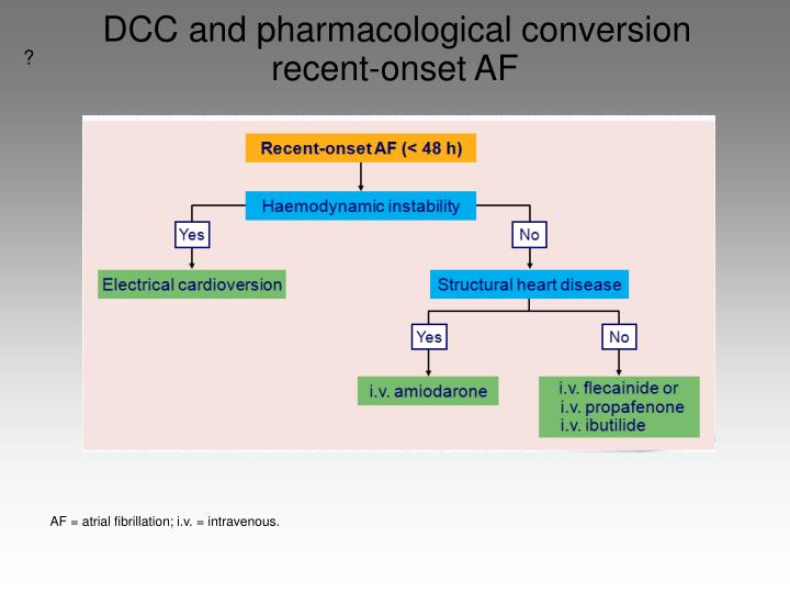 DCC and pharmacological conversion