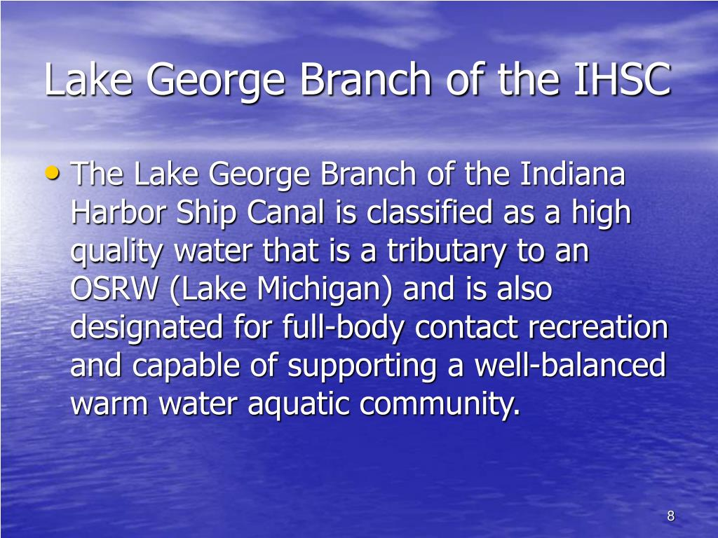 Lake George Branch of the IHSC