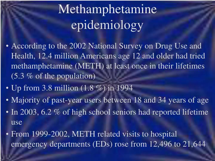 Methamphetamine epidemiology