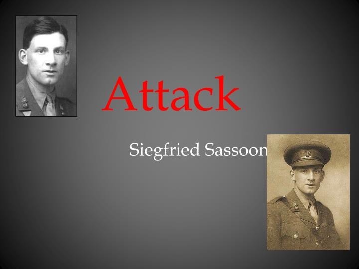 "the death bed siegfried sassoon essay We will write a custom essay sample on they by siegfried sassoon specifically for you for only $1638 $139/page order now  death has become a living object as the soldiers have ""dared him face to face"", the poet has assigned death qualities such as a face that only living objects have."
