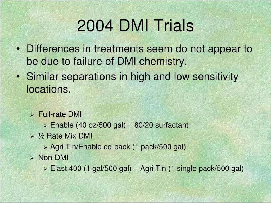 2004 DMI Trials