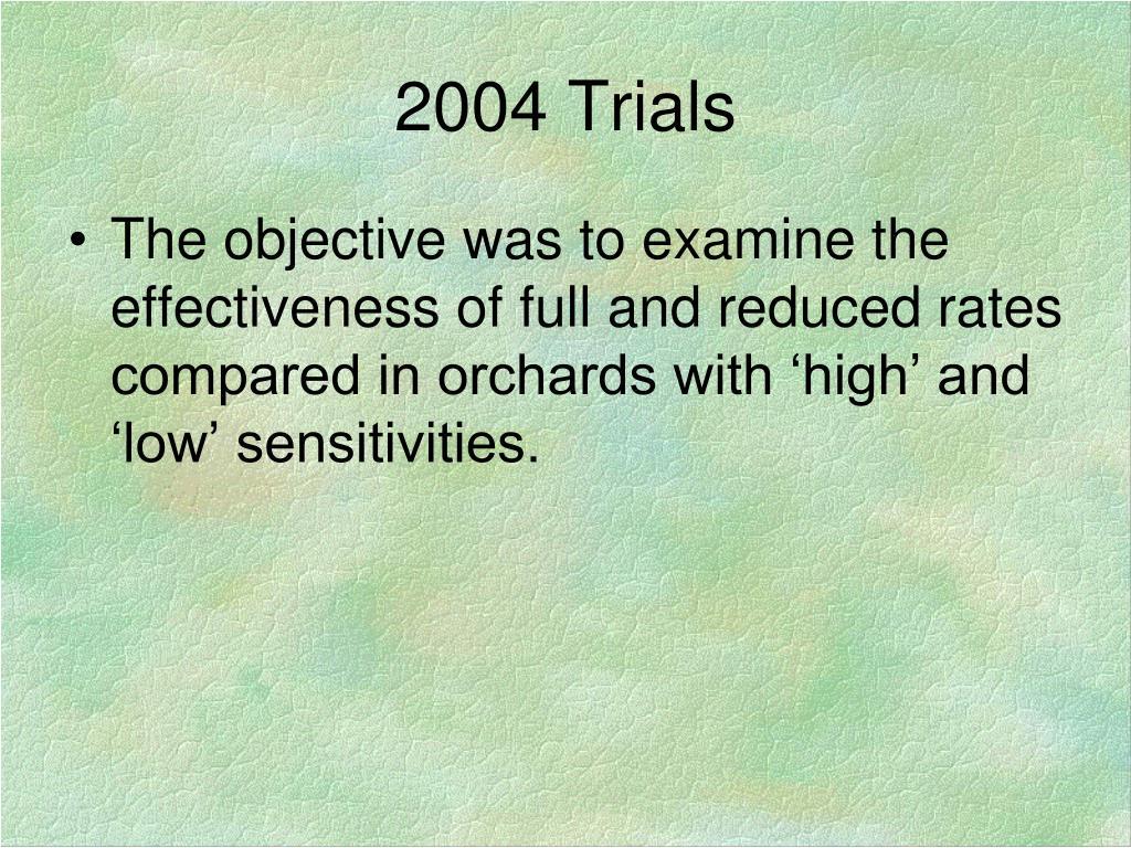 2004 Trials