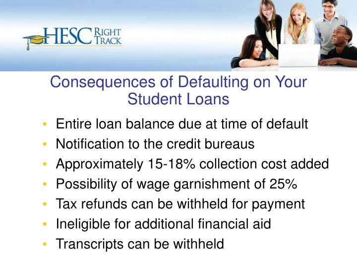 Consequences of Defaulting on Your Student Loans