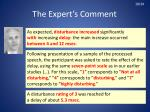 the expert s comment6