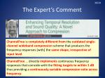 the expert s comment7