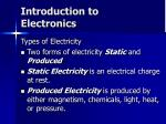 introduction to electronics2
